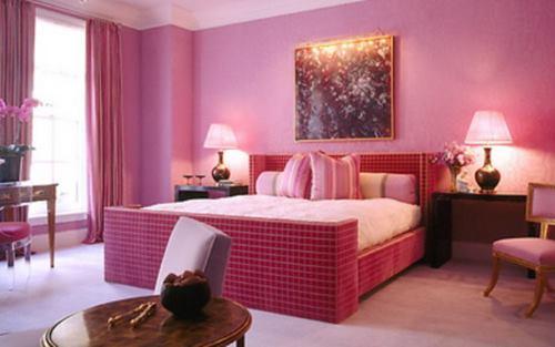 Sơn tường nhà hồng đậm (Pink Yarrow) theo xu hướng 2017